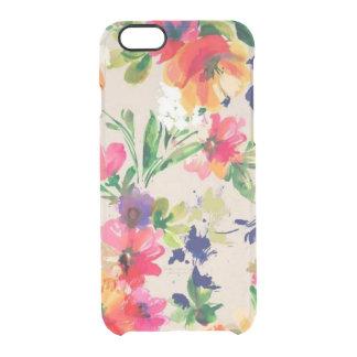 Coque iPhone 6/6S Cas floral de l'iPhone 6 d'aquarelle, cas de