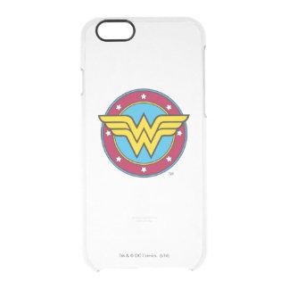 Coque iPhone 6/6S Cercle de la femme de merveille | et logo