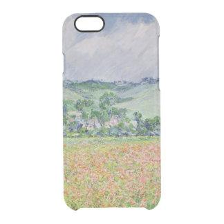 Coque iPhone 6/6S Claude Monet | le champ de pavot près de Giverny,