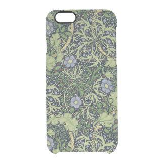 Coque iPhone 6/6S Conception de papier peint d'algue, imprimée par