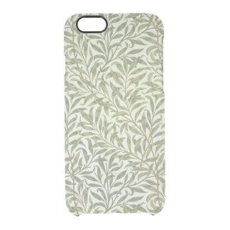 """Coque iPhone 6/6S Conception de papier peint """"de branche de saule"""","""