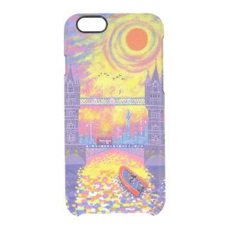 Coque iPhone 6/6S Coucher du soleil : Piscine de Londres 2013