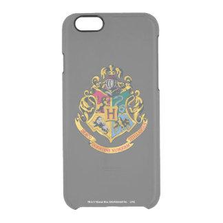 Coque iPhone 6/6S Crête de Harry Potter   Hogwarts - polychrome
