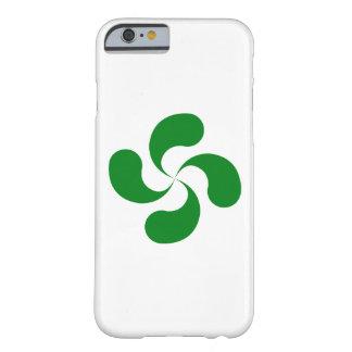 """Coque iPhone 6/6s Croix Basque """"Lauburu"""" Verte"""