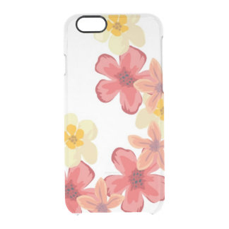 Coque iPhone 6/6S Déflecteur C de l'iPhone 6/6s Clearly™ de fleur