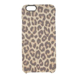 Coque iPhone 6/6S D'empreinte de léopard cas de l'iPhone 6 de
