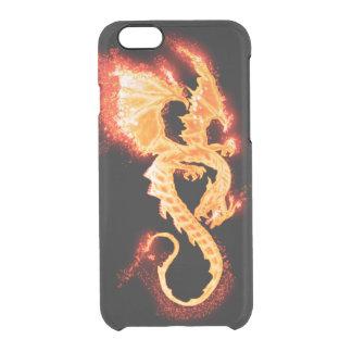 Coque iPhone 6/6S dragon du feu