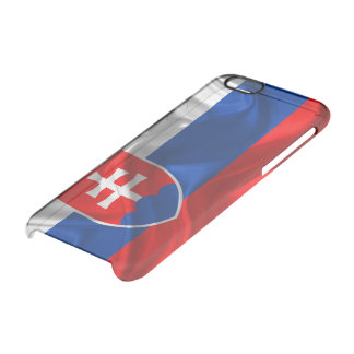 Coque iPhone 6/6S Drapeau de la Slovaquie