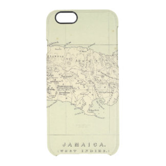 Coque iPhone 6/6S La Jamaïque a lithographié la carte