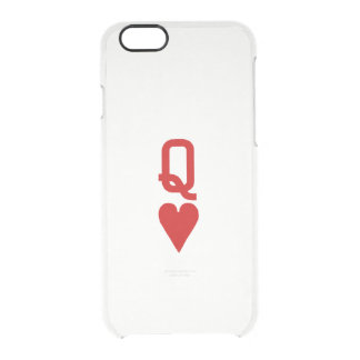 Coque iPhone 6/6S La reine de l'iPhone 6/6S de coeurs dégagent le