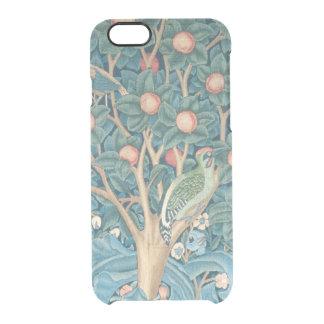 Coque iPhone 6/6S La tapisserie de pivert, détail des piverts