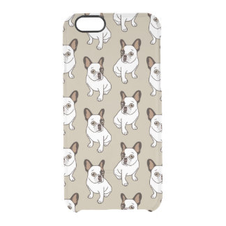 Coque iPhone 6/6S Le faon adorable Frenchie pie