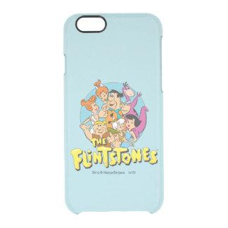 Coque iPhone 6/6S Les Flintstones et le graphique de famille de