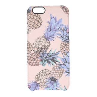 Coque iPhone 6/6S L'iPhone transparent 6/6s d'ananas dégagent le cas