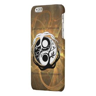 Coque Iphone 6/6S logo auteur