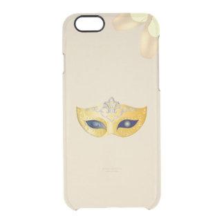 Coque iPhone 6/6S Masque d'opéra de ballet et chaussures d'or de