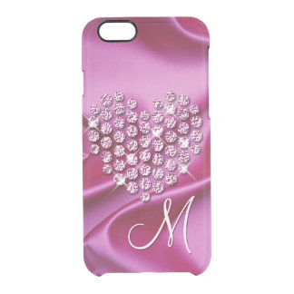 Coque iPhone 6/6S Motif de vagues en soie de Faux de diamants de