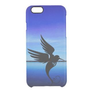Coque iPhone 6/6S Mouche impressionnante d'oiseau rêveur d'art en