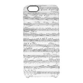 Coque iPhone 6/6S Musique de feuille pour l'ouverture à 'Egmont