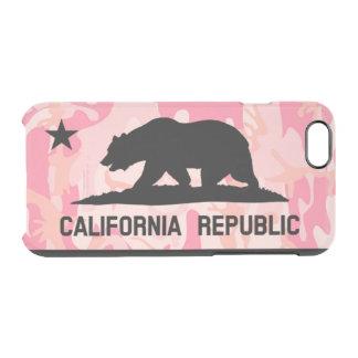 Coque iPhone 6/6S Ours mexicain d'étoile de camée de drapeau de