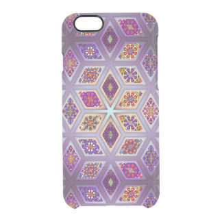 Coque iPhone 6/6S Patchwork vintage avec les éléments floraux de