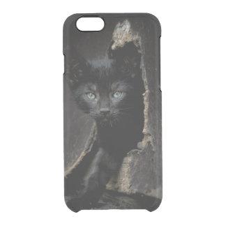 Coque iPhone 6/6S Petit Kitty noir