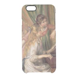 Coque iPhone 6/6S Pierre jeunes filles de Renoir un | au piano