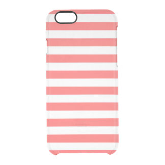 Coque iPhone 6/6S Rayures de très bon goût de corail