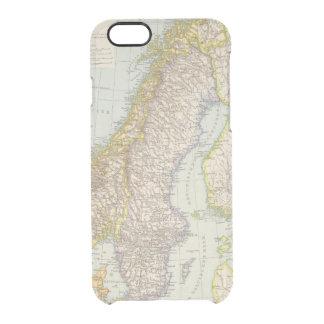 Coque iPhone 6/6S Schweden, Norwegen - la Suède et carte de la