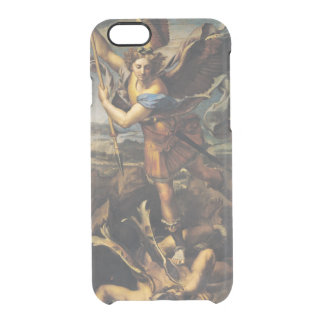 Coque iPhone 6/6S St Michael accablant le démon, 1518