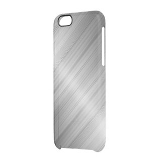 Coque iPhone 6/6S Texture balayée en métal