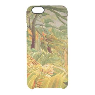 Coque iPhone 6/6S Tigre dans une tempête tropicale 1891