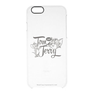 Coque iPhone 6/6S Tom et Jerry | Tom et Jerry semblant doux