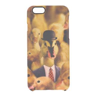 Coque iPhone 6/6S Un canard dans un casquette de lanceur et un