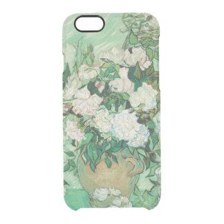 Coque iPhone 6/6S Vase à Vincent van Gogh avec les roses roses