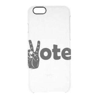 Coque iPhone 6/6S Vote d'illustration pour la paix