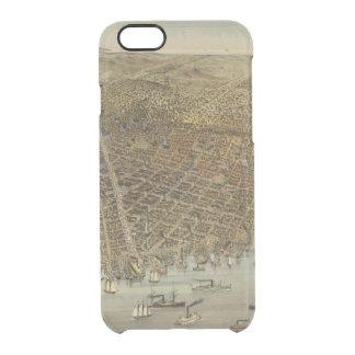 Coque iPhone 6/6S Vue d'oeil d'oiseaux de San Francisco