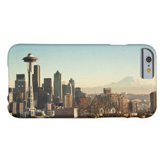 Coque iPhone 6 Barely There Aiguille du centre d'horizon et d'espace de