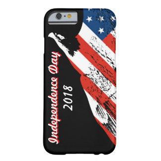 Coque iPhone 6 Barely There Américain Eagle 2018 de Jour de la Déclaration