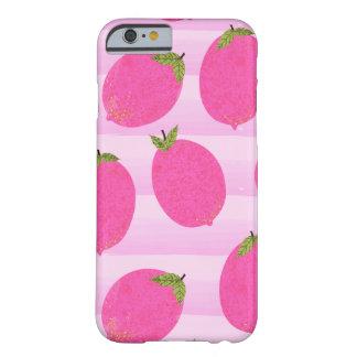 Coque iPhone 6 Barely There Amusement rose d'aquarelle de fruit d'été de