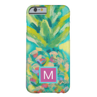 Coque iPhone 6 Barely There Ananas tropical coloré