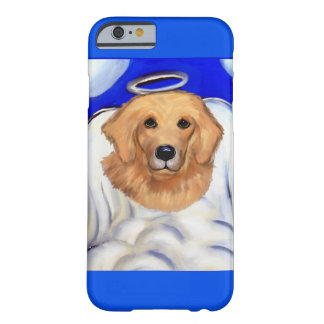 Coque iPhone 6 Barely There Ange de golden retriever
