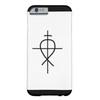 Coque iPhone 6 Barely There Anti cas civil d'Iphone 6/6s de logo