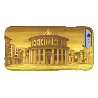 Coque iPhone 6 Barely There Architecte IDÉAL de la Renaissance de VILLE, jaune