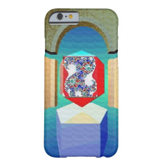 Coque iPhone 6 Barely There Art surréaliste de fractale de TEMPLE de CHAOS ET