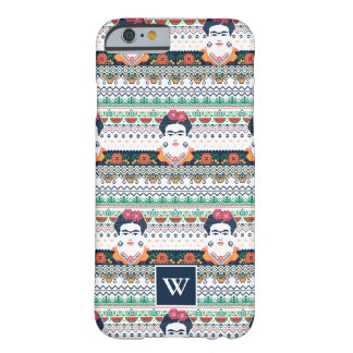 Coque iPhone 6 Barely There Aztèque de Frida Kahlo |