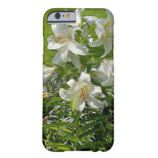 Coque iPhone 6 Barely There Belle couverture de fleur de lis