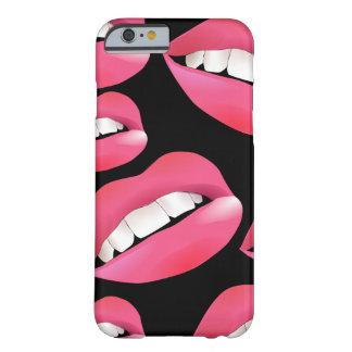 Coque iPhone 6 Barely There Belles lèvres de personnaliser