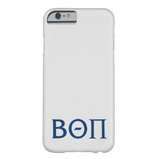 Coque iPhone 6 Barely There Bêtas lettres de Grec du thêta pi