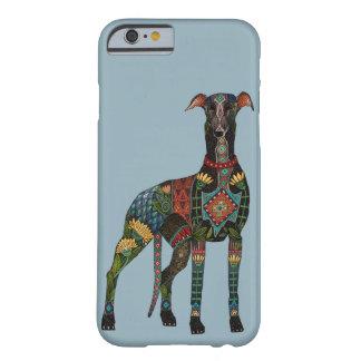 Coque iPhone 6 Barely There bleu azuré de lévrier